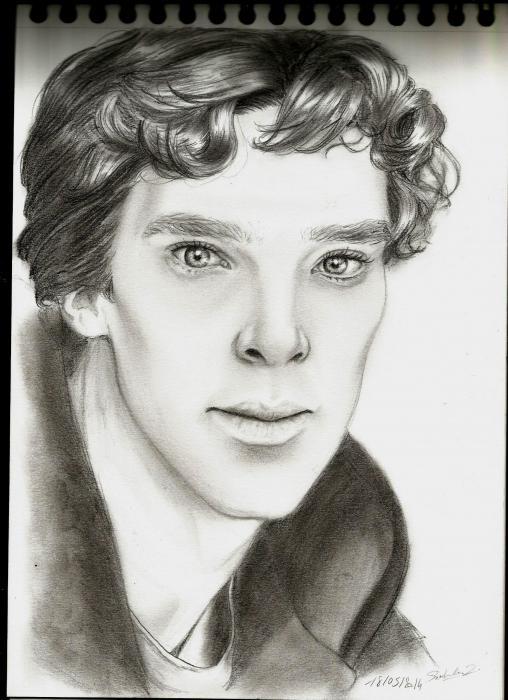 Benedict Cumberbatch by NierLee